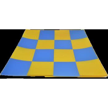 Plateau rectangle verre opaque