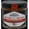 Moutarde à l'ancienne - Piment d'Espelette