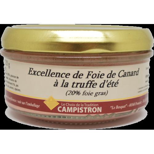 Excellence de foie de canard à la truffe d'été
