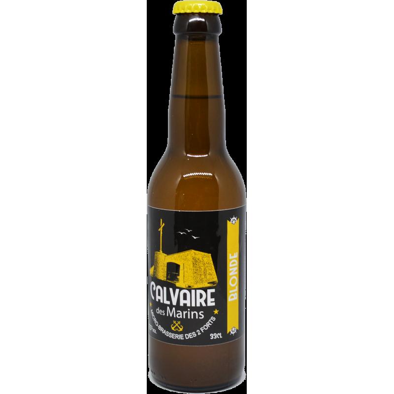 Bière Blonde - Calvaire des Marins - 33cl