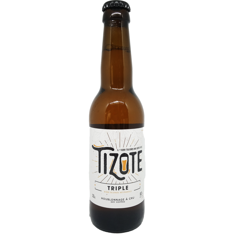 Tizote - Bière Blonde Triple - 33cl