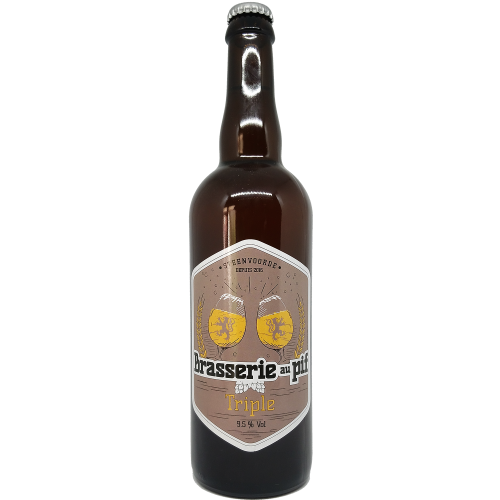 Brasserie au Pif - Bière Blonde Triple - 75cl