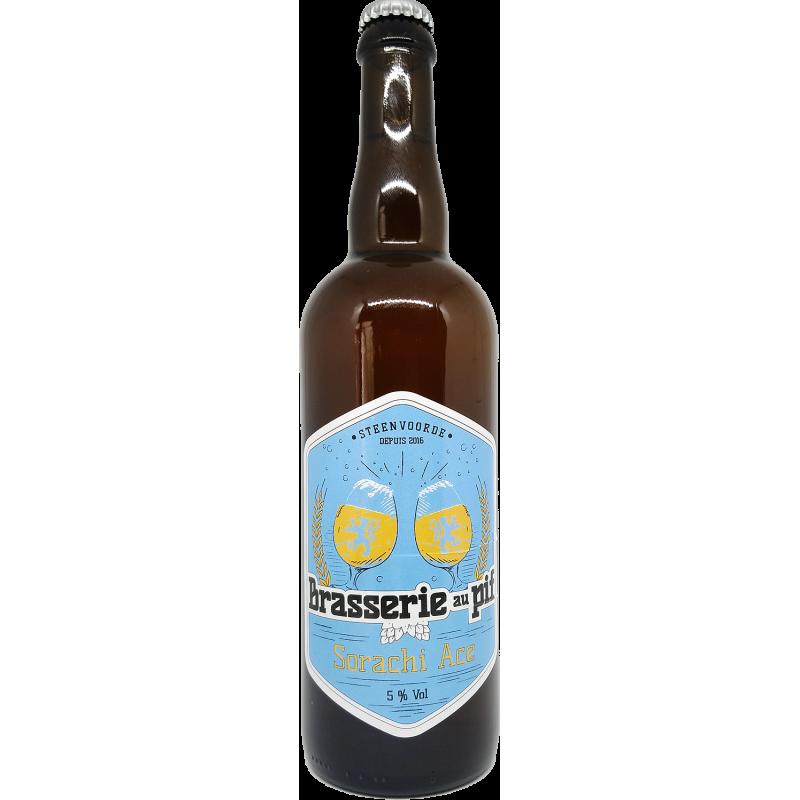 Brasserie au Pif Sarachie Ale - Bière Blonde - 75cl