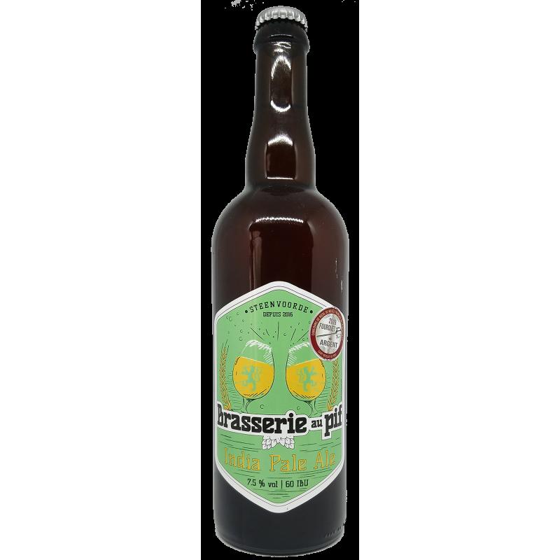 Brasserie au Pif India Pale Ale - Bière Blonde - 75cl