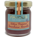 Confiture Pomme Framboise Crumble - 42g
