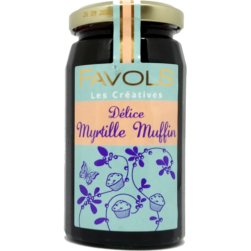 Confiture Myrtille Muffin - 260g