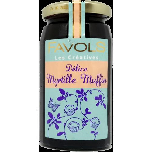 Confiture Myrtille Muffin - 260g