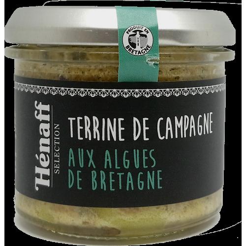 Terrine de campagne aux algues de Bretagne - 90g