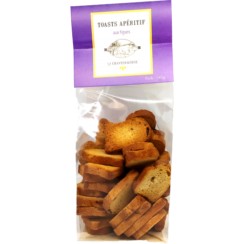 Toasts aux figues - 140g