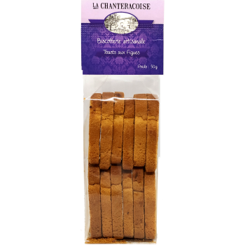 Toasts aux figues - 50g