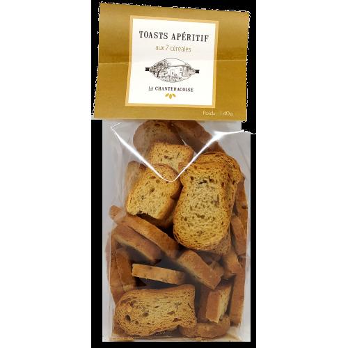 Toasts aux 7 céréales - 140g