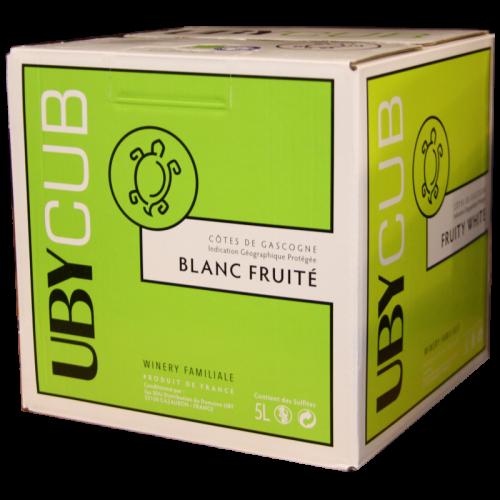Domaine Uby Blanc - Gascogne - 5 Litres