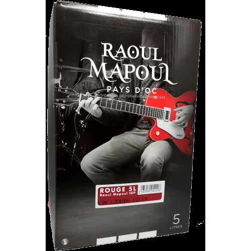 Raoul Mapoul - Pays d'Oc - Rouge - 5 Litres