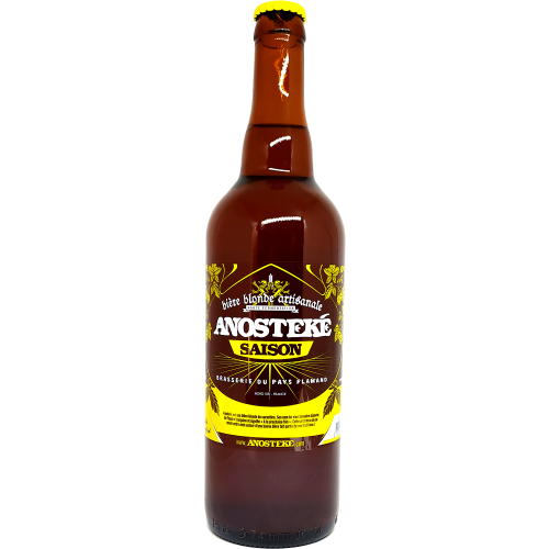 Anosteké Saison - Bière Blonde - 75cl
