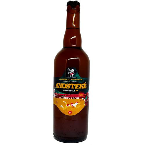 Hoppy Loger Freestyler #2 - Bière Blonde - 75cl