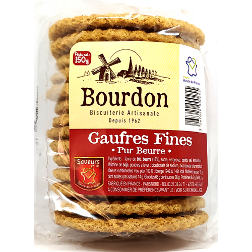 Gaufres Fines Pur Beurre - 150g