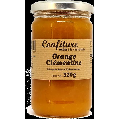 Confiture Orange Clémentine à la cassonade