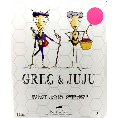 Greg et Juju - Pays d'oc Rosé - 3L