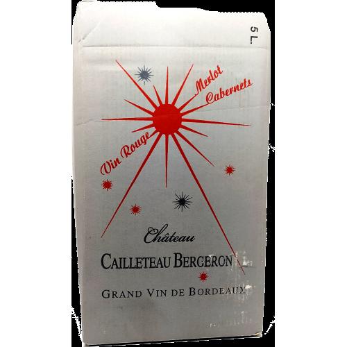 Chateau Cailleteau Bergeron - Blaye - 5L