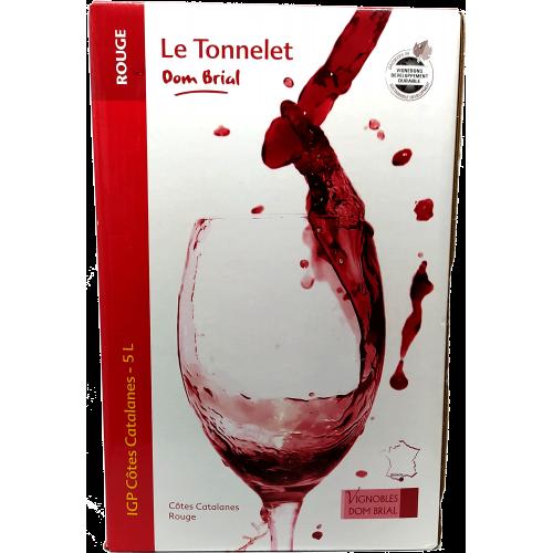 Le Tonnelet by Dom Brial - Côtes de Catalanes - Rouge 5L