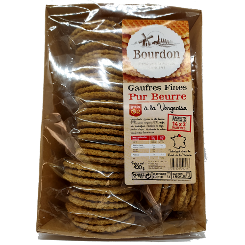 Gaufres Fines Pur Beurre - 420g