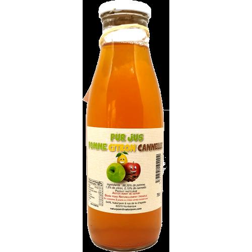 Jus de Pomme Citron Cannelle