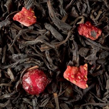 Thé Noir - Quatre Fruits Rouges - 100g