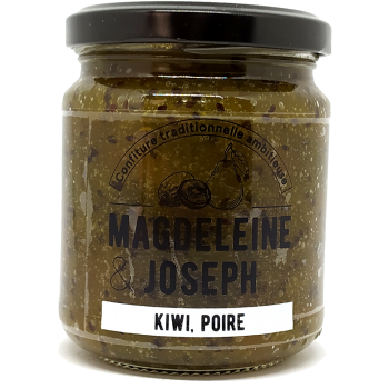Confiture Kiwi Poire - Magdeleine & Joseph - 240g