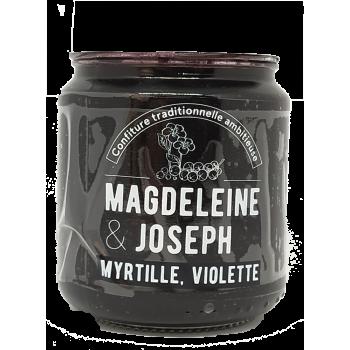 Confiture Myrtille, violette - Magdeleine & Joseph - 240g