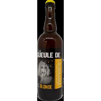 La Gueule de BOMBASSE - Bière Blonde - 75cl