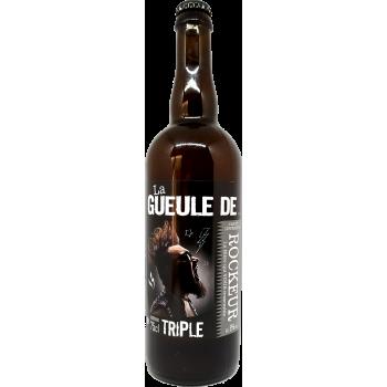 La Gueule de ROCKEUR - Bière Blonde Triple - 75cl