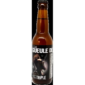 La Gueule de ROCKEUR - Bière Blonde Triple - 33cl