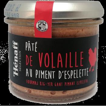 Pâté de Volaille au Piment d'Espelette - 90g