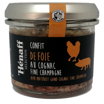 Confit de foie au Cognac Fine Champagne - 90g