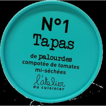 Tapas de palourdes compotée de tomates mi-séchées n°1