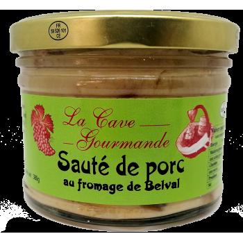Sauté de Porc au fromage de Belval - 380g