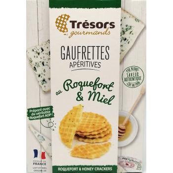 Gaufrettes au Roquefort & Miel - 60g