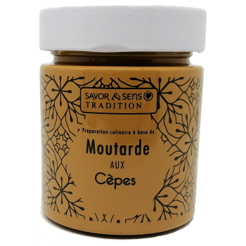 Moutarde aux Cèpes - 130g