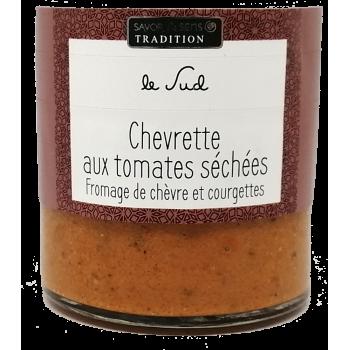 Chevrette aux tomates séchées - 100g