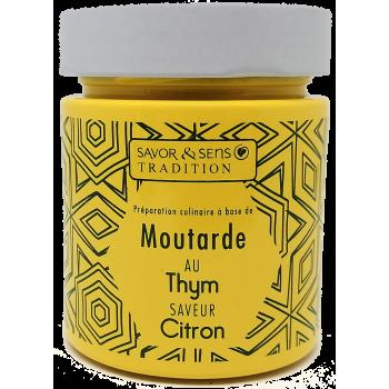 Moutarde Thym et Citron - 130g