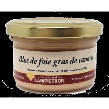 Bloc de foie gras de canard - 80g