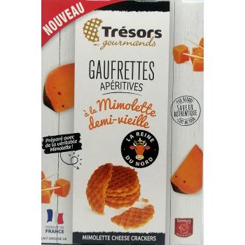 Gaufrettes Mimolette Demi-Vieille - 60g