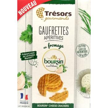 Gaufrettes Boursin Ail & Fines Herbes - 60g
