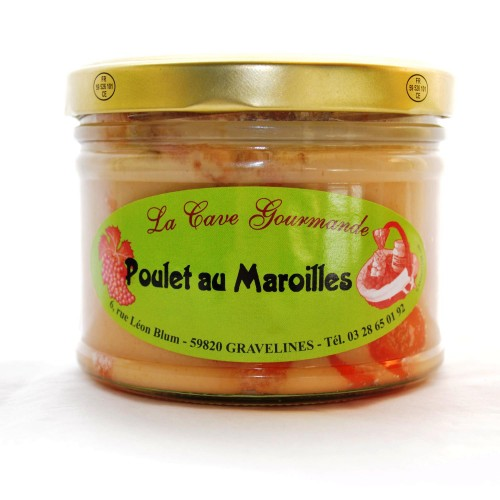 Poulet au Maroilles