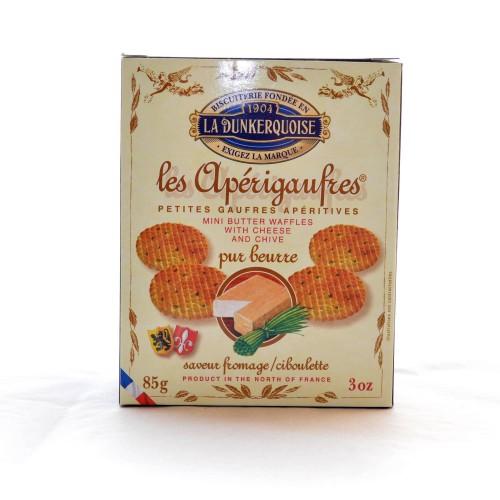 Apérigaufres Fromage / Ciboulette