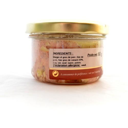 Délice Landais (20% Foie Gras)