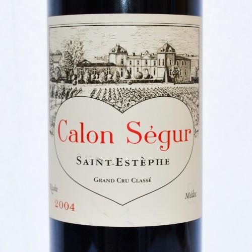"""Château Calon-Ségur """"3ème Cru Classé"""" - 2004"""