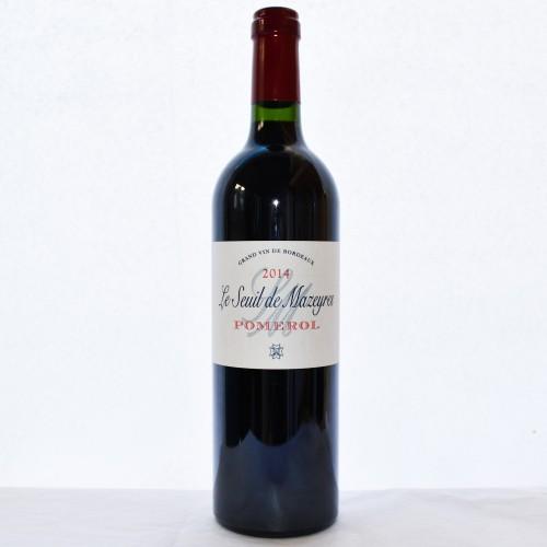 """Le Seuil de Mazeyres """"2nd vin du Château Mazeyres"""" - 2014"""