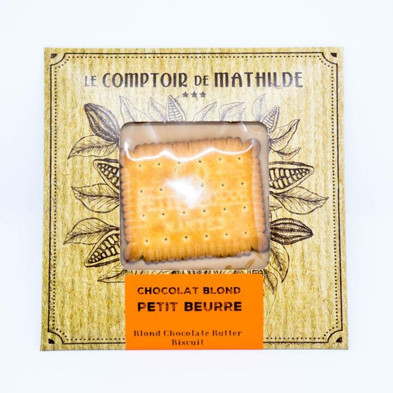 Tablette Petit beurre - Chocolat blond