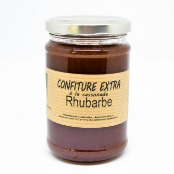 Confiture Extra Rhubarbe à la cassonade